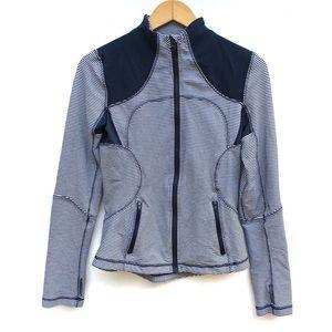 Lululemon Inkwell Gingham Plaid Forme Jacket